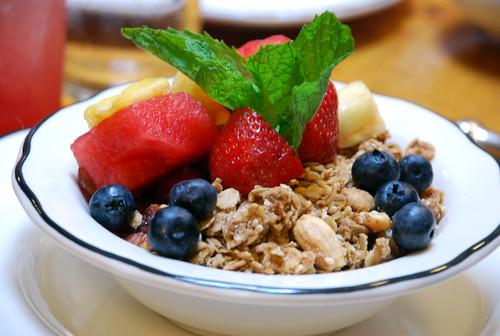 fruits & yogurt @ spoon