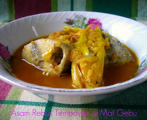 Asam Rebus Tempoyak
