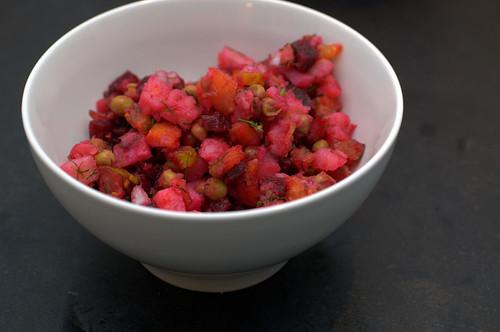 venigret - russian beet salad