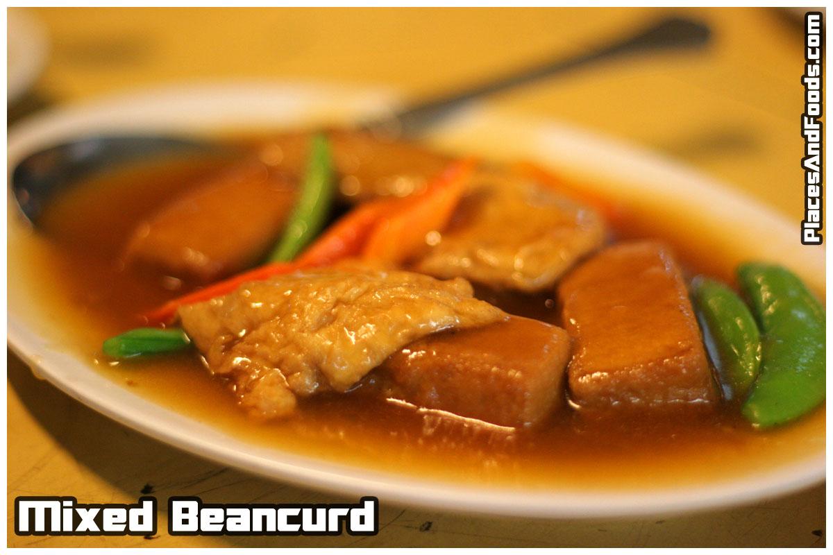 mixed beancurd