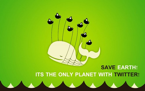 Save Earth, it is the only planet with Twitter