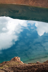0908 Krafla 09 - Vti (*maya*) Tags: sky lake nature clouds landscape lago volcano lava iceland nuvole natura steam crater caldera cielo powerplant geothermal paesaggio myvatn vulcano cratere islanda krafla fumarole vapore geotermia