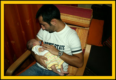 Con zio Daniele (**Gianluke**) Tags: italy baby neonato summer2009