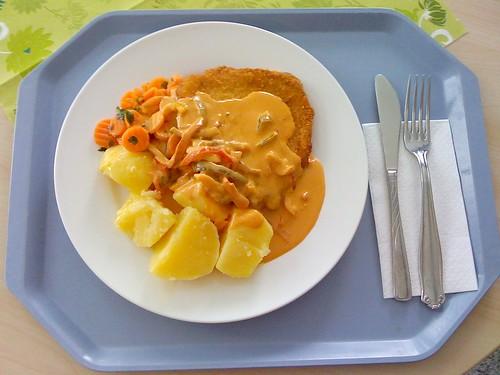 Paprika-Rahm-Schnitzel