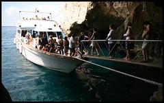 The boat at the Grotto Di Nettuno (Sviddgummi.no) Tags: sardegna italy sardinia alghero grottodinettuno