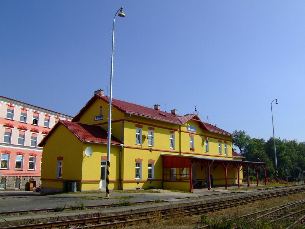 Asch Tschechien bahnhof as mesto m4b eisenbahnforum nordostbayern