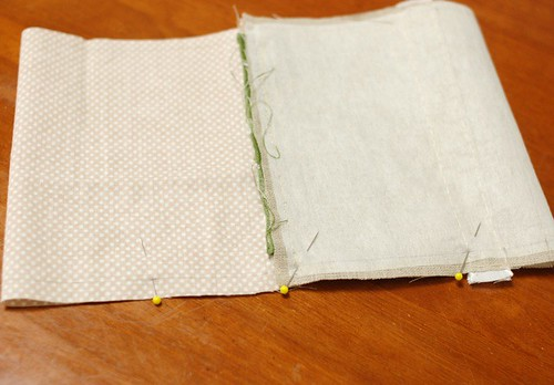 How to make a petit pouch 21