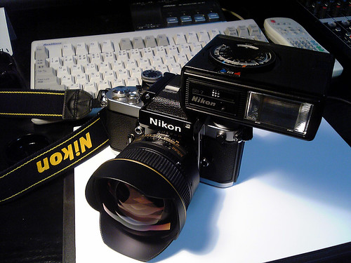 Nikon F2 Photomic with 14mm/F2.8D + SB-7