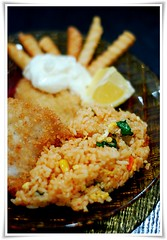 Fish and Chips (cheguthamrin) Tags: 50mm lemon fries fishandchips