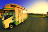 Camping in Ohara (/\ltus) Tags: sunset japan pentax chiba ohara rv k7 campingcar nothdr 200909 vantech justpentax zil520