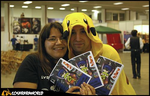 Pikachu &cia con el fanzine FTW