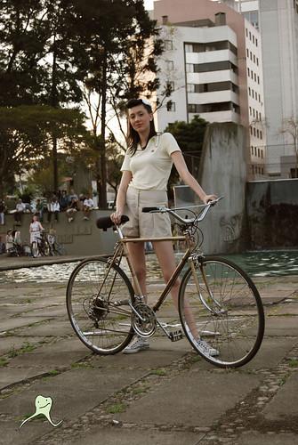 GUM @ Curitiba Cycle Chic - O desfile.