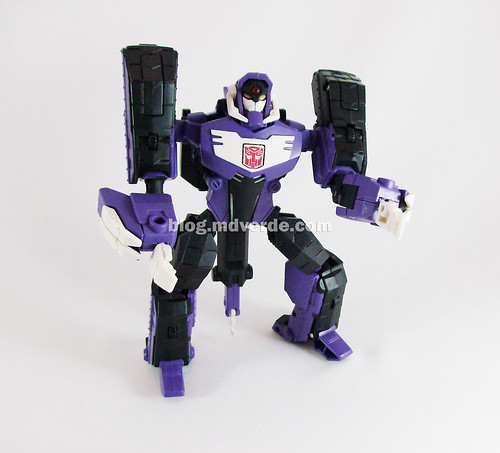 Transformers Shockwave Animated Voyager - modo Longarm