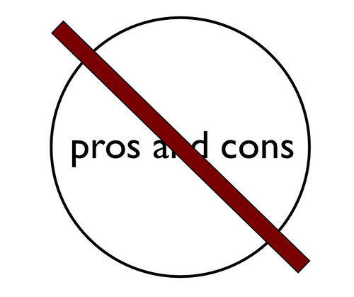 pros and cons is a bad keyword option