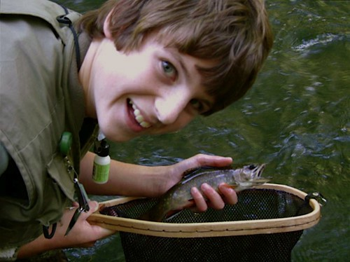 Fly Fishing for Brook Trout in Maryland