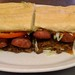 LaPlace Frostop Sausage Link Poboy