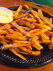 Chilango's sweet potato fries