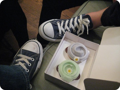 Converse and Cupcakes