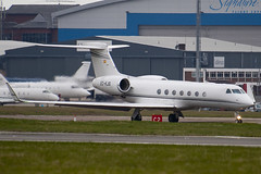 EC-KJS - 5151 - Executive Airlines - Gulfstream G550 - Luton - 090331 - Steven Gray - IMG_2720