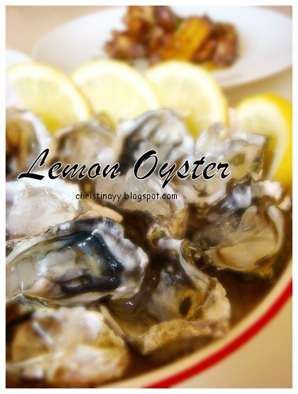 Home-Cooking: Oysters with Lemon