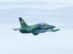Aero Albatros L-39C LECO RA-3555K (joseluismaquieira) Tags: spain coruña small jet militar takeoff albatros aero leco culleredo coru l39c corua ra3555k