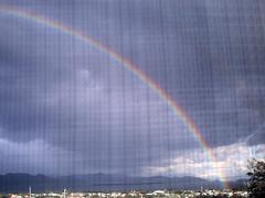 Lnea de colores (Neuhroz) Tags: arcoiris colores cielo nubes doblearcoiris