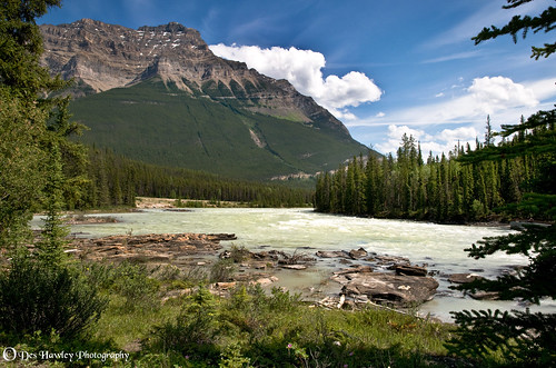 THE ATHABASCA RIVER...Thank you for over 300+ views !
