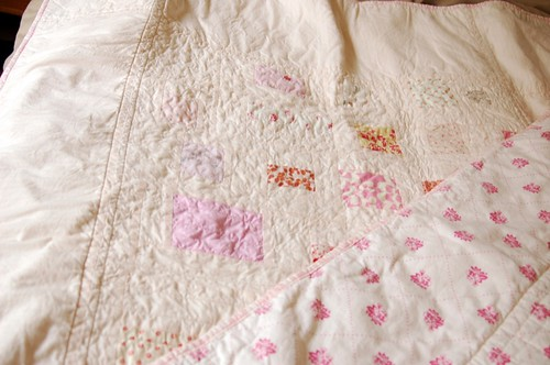 pink cot quilt