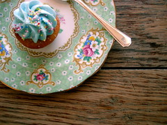 (lobster and swan) Tags: vintage pretty pastel cupcake baked
