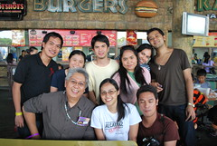 With Mr. C and the Pinoy Dream Academy students daw