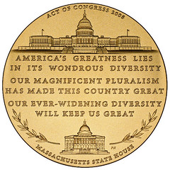 Brooke Congressional Gold Medal reverse
