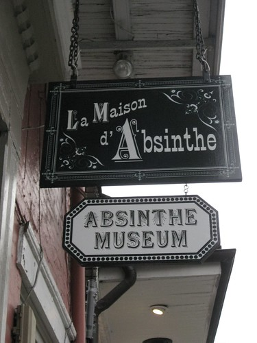 Day 1 - Absinthe Museum - Sign