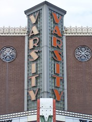 The Varsity Center of the Arts: Carbondale, Il (Onasill ~ Bill Badzo) Tags: lighting old cinema art architecture vintage marquee photo site illinois theater downtown exterior view theatre map live interior performing style center historic moderne entertainment varsity restored historical artdeco neonsign register carbondale deco attraction jacksoncounty nrhp onasill