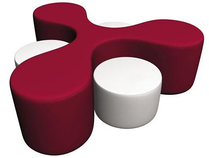 Three Way Table – Modern Compact Seating Furniture