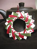 Origami Pendant/ Ornament - Holly Jolly