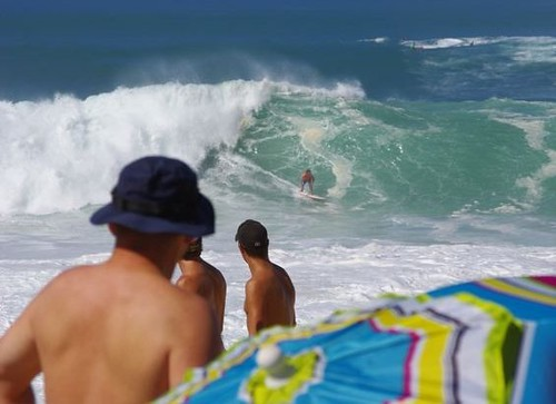 The Eddie Aikau and big waves draw 50,000 to the North Shore
