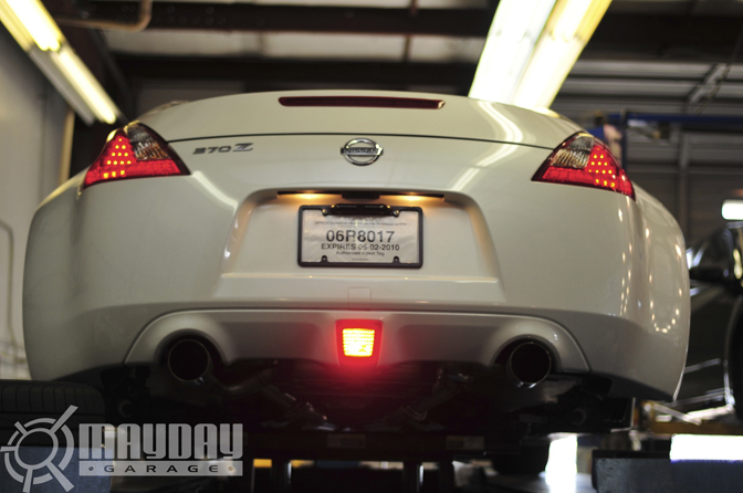 The rear fenders on the new Z give the Z34 one hell of a look.