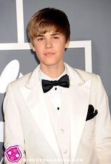 Justin Beiber (sumbie) Tags: california usa losangeles eyecontact headshot event halflength arrivals grammys whitesuit grammyawards whitetuxedo justinbeiber