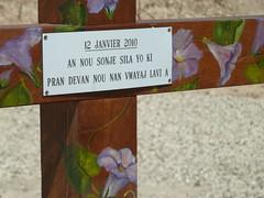 Creole inscription (leastlikely) Tags: cemetery haiti memorial massgrave taphophilia haitiearthquake