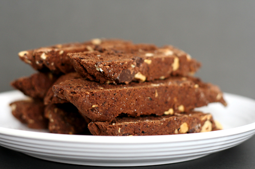 chocolate biscotti 9