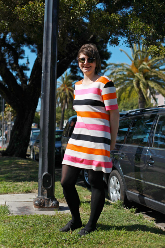 pinkstripe san francisco street fashion style