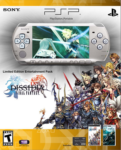LIMITED-EDITION DISSIDIA FINAL FANTASY PSP (PLAYSTATION PORTABLE