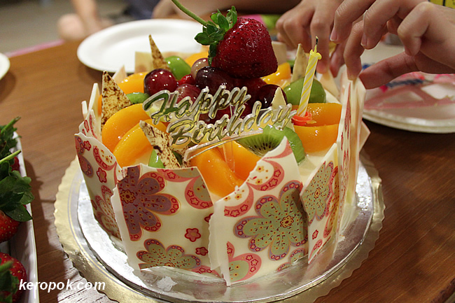 Fruit Gateau from Bengawan Solo