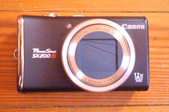 Canon PowerShot SX200 IS Front/Closed