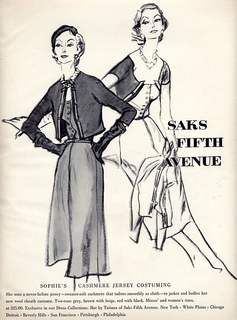 Saks Fifth Avenue Ad