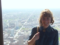 On top of the Hancock tower