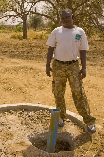 Clean water for the village of War Lang