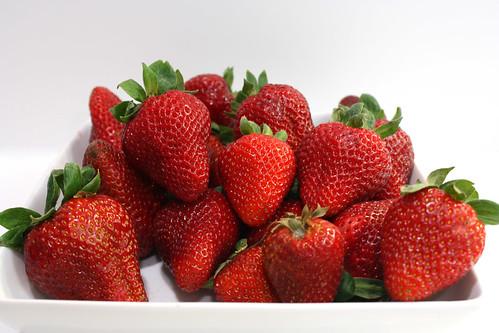 Detail - Strawberries