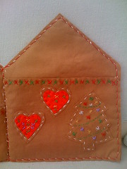 Gingerbread Card Holder (Inside Right).