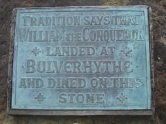 Photo of William I grey plaque